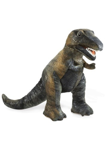 "Folkmanis Tyrannosaurus Rex 15\"" Puppet ハロウィン コスプレ 衣装 仮装 小道具 おもしろい イベント パーティ ハロウィーン 学芸会"