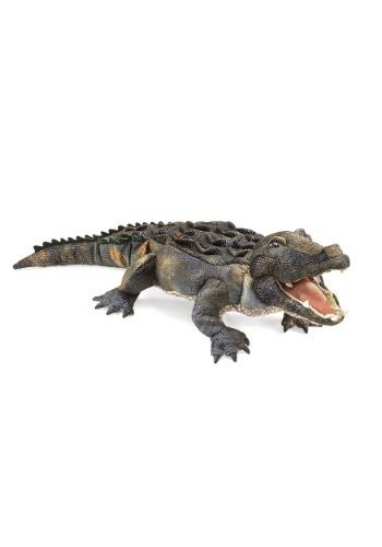 """American Alligator 32\"""" Folkmanis Puppet ハロウィン コスプレ 衣装 仮装 小道具 おもしろい イベント パーティ ハロウィーン 学芸会"""