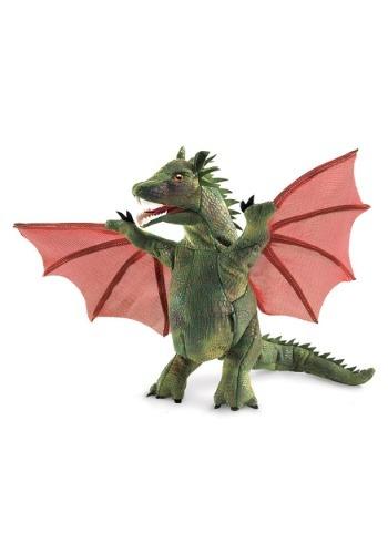 """9\"""" Folkmanis Winged ドラゴン Puppet ハロウィン コスプレ 衣装 仮装 小道具 おもしろい イベント パーティ ハロウィーン 学芸会"""