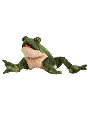 """Folkmanis 11\"""" Toad Puppet ハロウィン コスプレ 衣装 仮装 小道具 おもしろい イベント パーティ ハロウィーン 学芸会"""