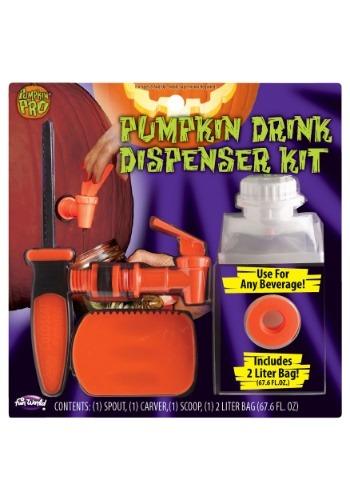 パンプキン Drink Dispenser Kit クリスマス ハロウィン コスプレ 衣装 仮装 小道具 おもしろい イベント パーティ ハロウィーン 学芸会