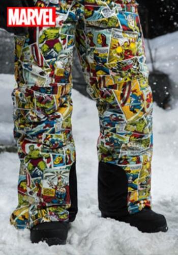 マーベル Comic Print Snow Pants ハロウィン コスプレ 衣装 仮装 小道具 おもしろい イベント パーティ ハロウィーン 学芸会