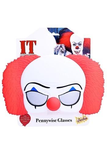 Pennywise ピエロ 眼鏡 クリスマス ハロウィン コスプレ 衣装 仮装 小道具 おもしろい イベント パーティ ハロウィーン 学芸会