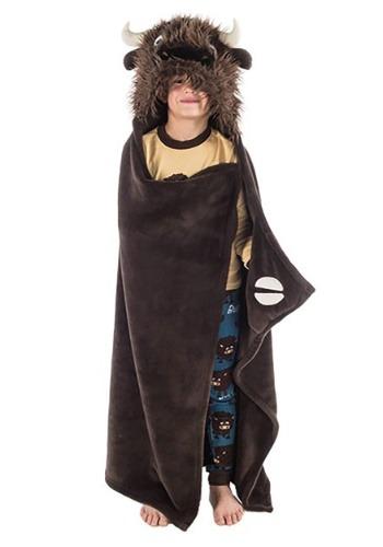 Lazy One Buffalo Critter キッズ Blanket ハロウィン コスプレ 衣装 仮装 小道具 おもしろい イベント パーティ ハロウィーン 学芸会