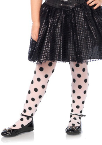 Girls Polka Dot Tights クリスマス ハロウィン コスプレ 衣装 仮装 小道具 おもしろい イベント パーティ ハロウィーン 学芸会