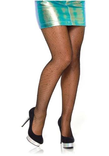 Women's ブラック Rhinestone Tights クリスマス ハロウィン コスプレ 衣装 仮装 小道具 おもしろい イベント パーティ ハロウィーン 学芸会