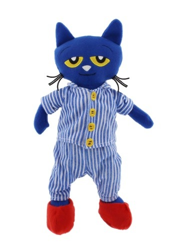 "Bedtime Blues Pete the Cat 14.5\"" Stuffed Figure クリスマス ハロウィン コスプレ 衣装 仮装 小道具 おもしろい イベント パーティ ハロウィーン 学芸会"