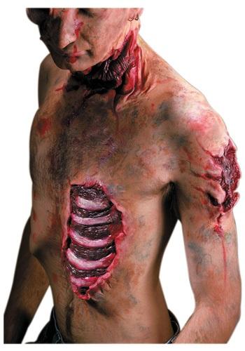 Spare Ribs Prosthetic クリスマス ハロウィン コスプレ 衣装 仮装 小道具 おもしろい イベント パーティ ハロウィーン 学芸会