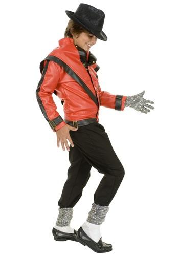 キッズ Michael Jackson Thriller Jacket ハロウィン 子ども コスプレ 衣装 4日~ 学芸会 ハロウィーン 仮装 全品P5倍 クーポン有 パーティ アウトレットセール 特集 イベント こども 有名な