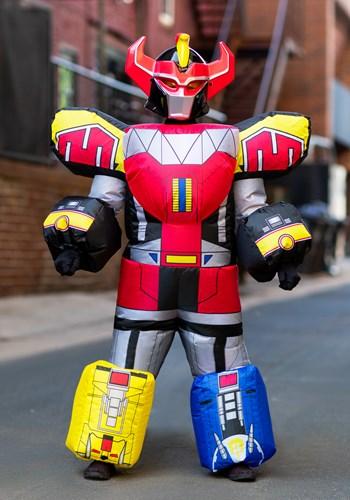 Power Rangers キッズ Megazord 直輸入品激安 Inflatable コスチューム ハロウィン 子ども コスプレ イーグルス感謝祭 仮装 イベント パーティ 衣装 セール価格 学芸会 ハロウィーン 全品P5倍 こども