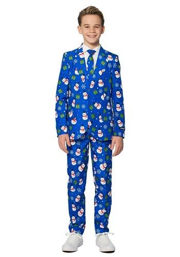 Boy's Blue Snowman Suitmeister ハロウィン 子ども コスプレ 衣装 仮装 こども イベント 子ども パーティ ハロウィーン 学芸会 Boy's Blue Snowman Suitmeister ハロウィン 子ども コスプレ 衣装 仮装 こども イベント 子ども パーティ ハロウィーン 学芸会