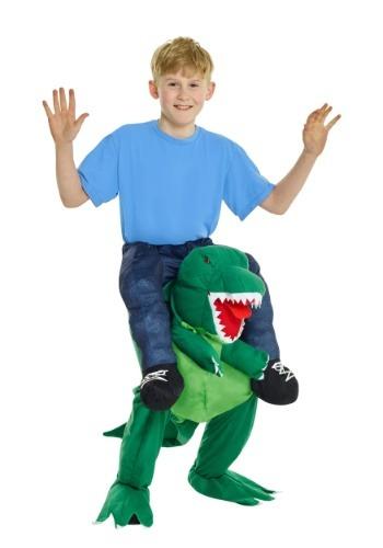 【イーグルス感謝祭 全品P5倍】T-Rex Piggyback キッズ コスチューム ハロウィン 子ども コスプレ 衣装 仮装 こども イベント 子ども パーティ ハロウィーン 学芸会