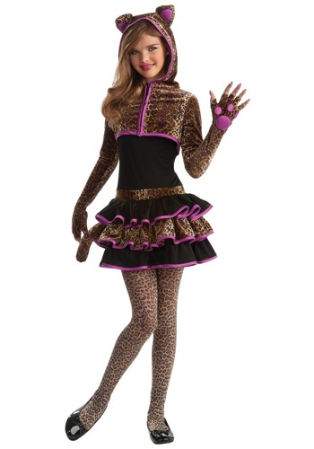 【イーグルス感謝祭 全品P5倍】Tween Leopard コスチューム ハロウィン 子ども コスプレ 衣装 仮装 こども イベント 子ども パーティ ハロウィーン 学芸会