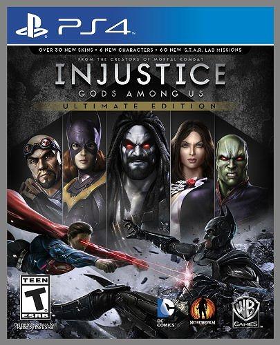 日本最速でお届け!!SONY PS4 プレイステーション4 プレステ4 インジャスティス Injustice: Gods Among Us Ultimate Edition 北米版 誕生日プレゼント