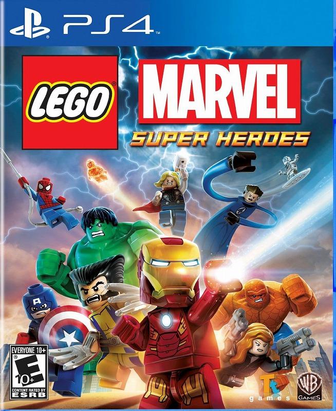 日本最速でお届け!!SONY PS4 プレイステーション4 プレステ4 LEGO Marvel Super Heroes レゴ マーブルスーパーヒーローズ 北米版 誕生日プレゼント
