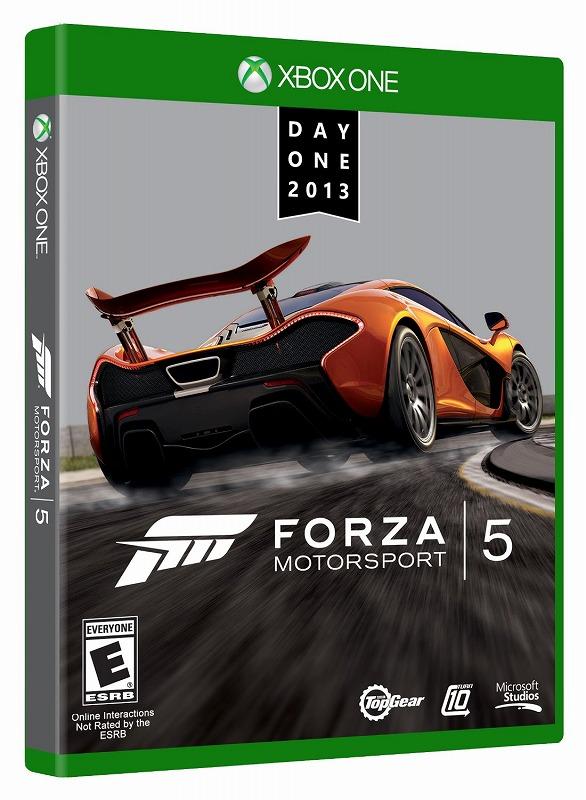 日本最速でお届け!!XBOX ONE エックスボックス ワン Forza Motorsport 5 Day One Edition