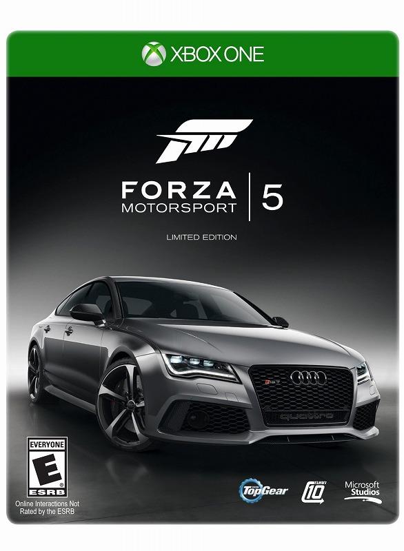 日本最速でお届け!!XBOX ONE エックスボックス ワン Forza Motorsport 5 限定版
