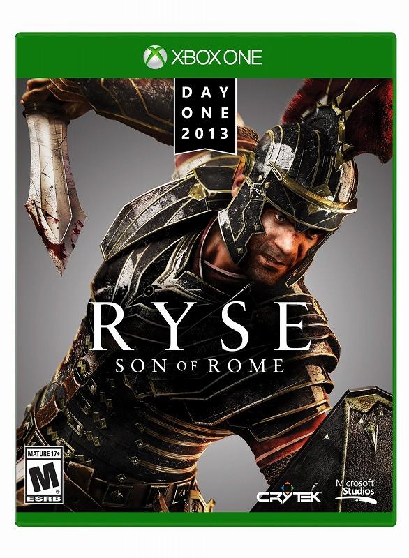 日本最速でお届け!!XBOX ONE エックスボックス ワン Ryse: Son of Rome Day One Edition