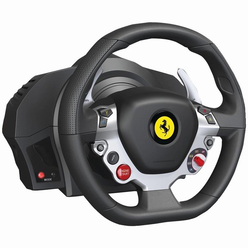 日本最速でお届け!!XBOX ONE エックスボックス ワン Thrustmaster TX Racing Wheel Ferrari 458 Italia Edition