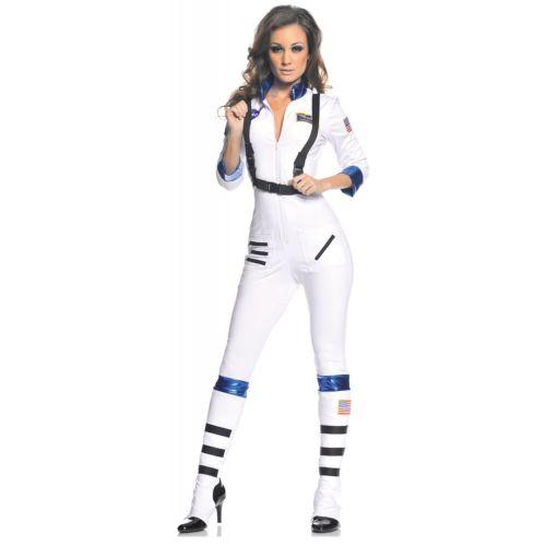 【ポイント最大29倍●お買い物マラソン限定!エントリー】セクシー Astronaut 大人用 ホワイト NASA Space スーツ レディス 女性用 ハロウィン コスチューム コスプレ 衣装 変装 仮装
