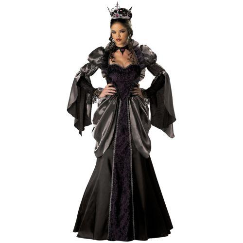 【マラソン全品P5倍】Evil Queen 大人用 Wicked Masquerade クリスマス ハロウィン コスチューム コスプレ 衣装 変装 仮装