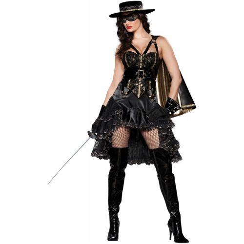 【店内全品P5倍】Zorroレディス 女性用 大人用 Mexican カウガール レディス 女性用 クリスマス ハロウィン コスチューム コスプレ 衣装 変装 仮装