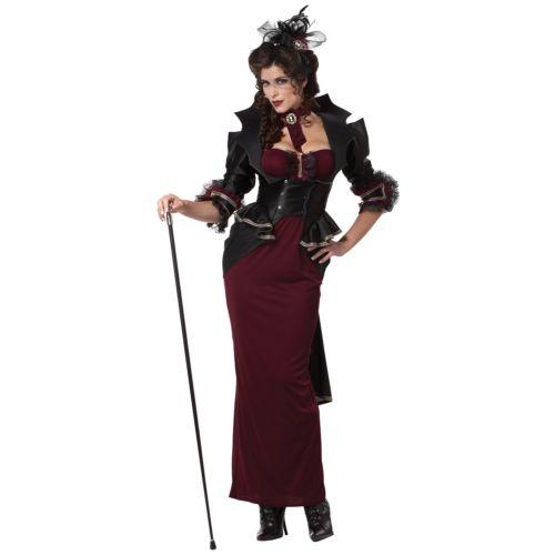 バンパイア 吸血鬼レディス 女性用 大人用 Victorian Steampunk ハロウィン コスチューム コスプレ 衣装 変装 仮装