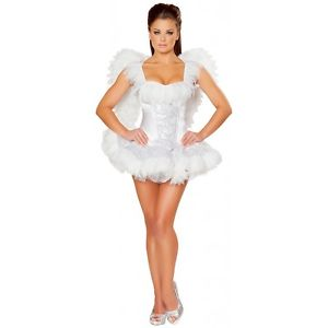 セクシー エンジェル 天使レディス 女性用 大人用 ホワイト Swan クリスマス ハロウィン コスチューム コスプレ 衣装 変装 仮装