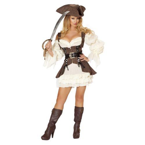 Womens Pirate Costume Adult Sexy Wench Halloween Fancy 公式ストア Dress 全品ポイント5倍 レディス ハロウィン 女性用 仮装 コスチューム セクシー 衣装 クリスマス コスプレ 変装 大人用 激安 激安特価 送料無料