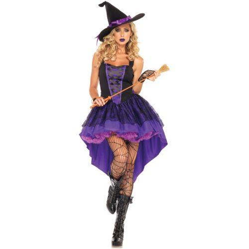 魔女レディス 女性用 大人用 ハロウィン コスチューム コスプレ 衣装 変装 仮装