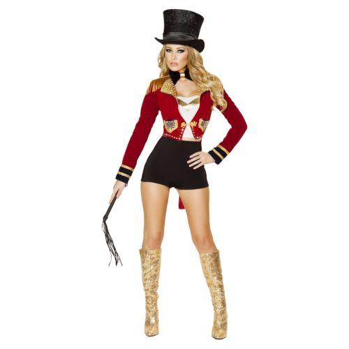 Ringmasterレディス 女性用 大人用 セクシー RingleaderCircus ハロウィン コスチューム コスプレ 衣装 変装 仮装