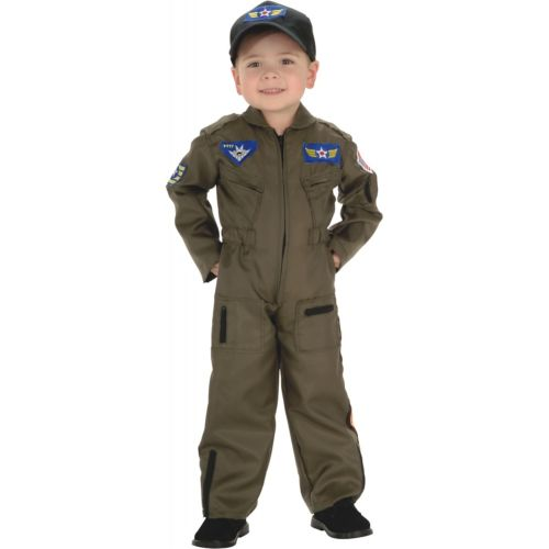 Air Force Fighter Pilot キッズ 子供用 フライト スーツ クリスマス ハロウィン コスチューム コスプレ 衣装 変装 仮装