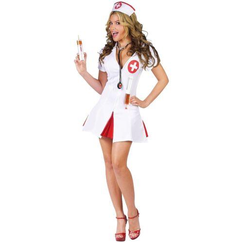 Nurse 大人用 レディス 女性用 セクシー Shot ガール Funny ハロウィン コスチューム コスプレ 衣装 変装 仮装