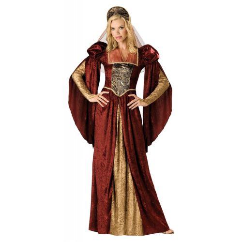 Renaissanceレディス 女性用 Medieval Princess Queen maiden クリスマス ハロウィン コスチューム コスプレ 衣装 変装 仮装