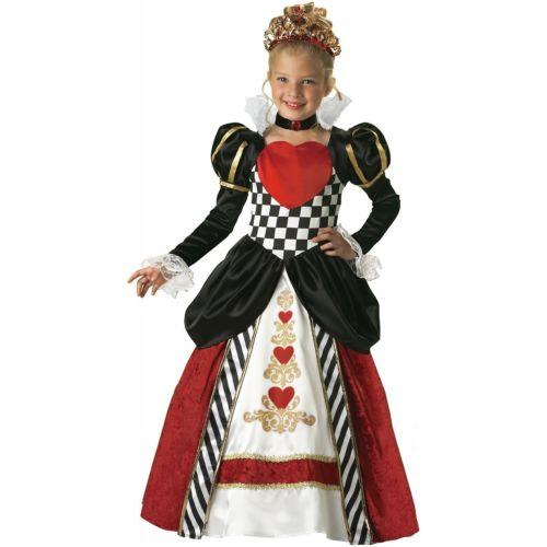 Queen of Hearts 子供用 ガールズ ハロウィン コスチューム コスプレ 衣装 変装 仮装