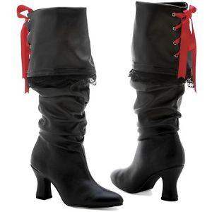 Pirate Boots レディス 女性用 大人用 レディス 女性用 Pirateシューズ 靴 クリスマス ハロウィン コスチューム コスプレ 衣装 変装 仮装