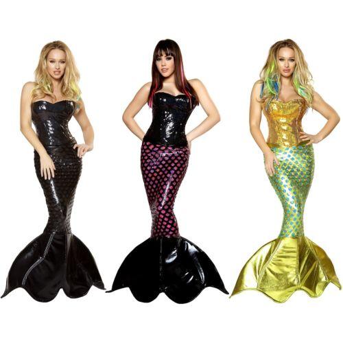 マーメイド 人魚レディス 女性用 セクシー 大人用 ハロウィン コスチューム コスプレ 衣装 変装 仮装