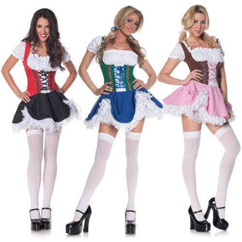German Beer ガールセクシー FrauleinOktoberfest Serving Wench ハロウィン コスチューム コスプレ 衣装 変装 仮装