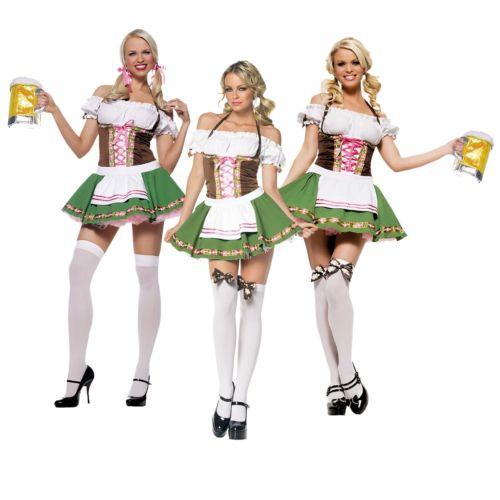 Beer ガール 大人用 セクシー German オクトーバーフェスト maiden クリスマス ハロウィン コスチューム コスプレ 衣装 変装 仮装