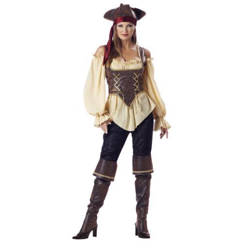 Pirateレディス 女性用 ハロウィン 大人用 Deluxe ハロウィン コスチューム コスプレ 衣装 衣装 変装 仮装 仮装, 家具のワカコー:5e576ccc --- officewill.xsrv.jp