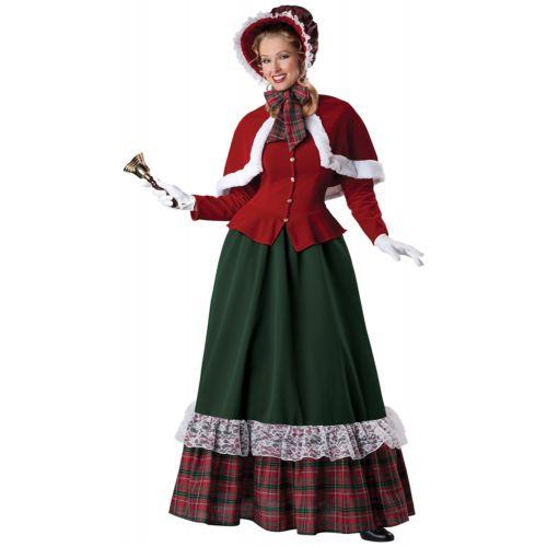 Charles Dickens CarolerVictorian Yuletide Lady クリスマス ハロウィン コスチューム コスプレ 衣装 変装 仮装