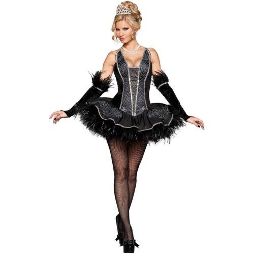 ブラック ハロウィン Swan 仮装 大人用 セクシー Ballerina Ballerina Ballet ハロウィン コスチューム コスプレ 衣装 変装 仮装, 良いもの本舗:3a46376c --- officewill.xsrv.jp