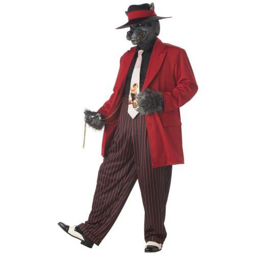 Big Bad ウルフ 40s/50s オオカミ 狼メンズ 男性用 大人用 Bad 40s/50s オオカミ Rockabilly Zoot スーツ ハロウィン コスチューム コスプレ 衣装 変装 仮装, 白老郡:755e4b5b --- officewill.xsrv.jp
