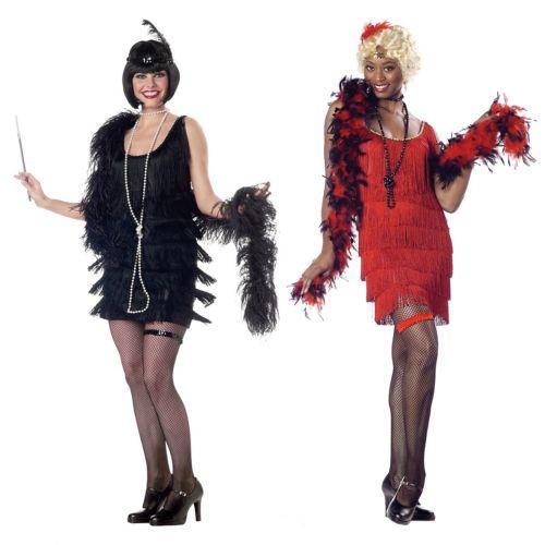 【全品P5倍】フラッパー 大人用 レディス 女性用 セクシー Roaring 20s クリスマス ハロウィン コスチューム コスプレ 衣装 変装 仮装