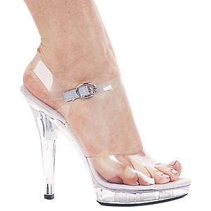 【ポイント最大29倍●お買い物マラソン限定!エントリー】セクシー High Heel Sandal Pumps Clear Glass Slipper シューズ 靴 大人用 レディス 女性用 ハロウィン コスチューム コスプレ 衣装 変装 仮装