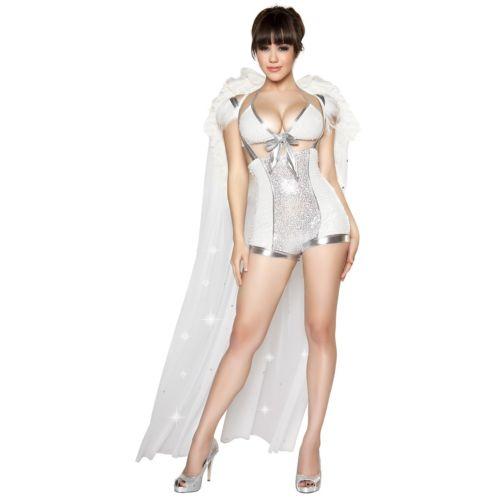 エンジェル 天使ic Seductress 大人用 ホワイト エンジェル 天使 クリスマス ハロウィン コスチューム コスプレ 衣装 変装 仮装