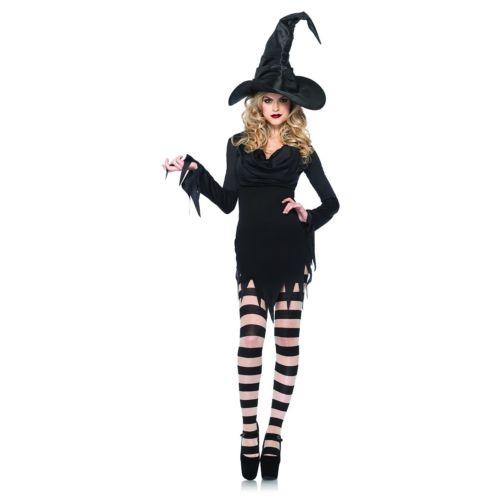 魔女 大人用 レディス 女性用 ハロウィン コスチューム コスプレ 衣装 変装 仮装