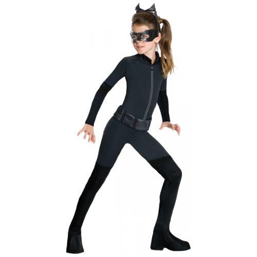 Catwoman 子供用 ガールズ ガール Superhero Cat Woman ハロウィン コスチューム コスプレ 衣装 変装 仮装