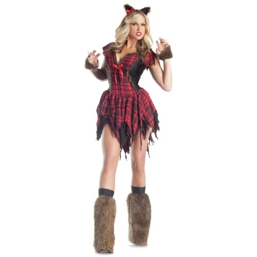 【ポイント最大29倍●お買い物マラソン限定!エントリー】Werewolf 大人用 レディス 女性用 セクシー Body Shaper ハロウィン コスチューム コスプレ 衣装 変装 仮装