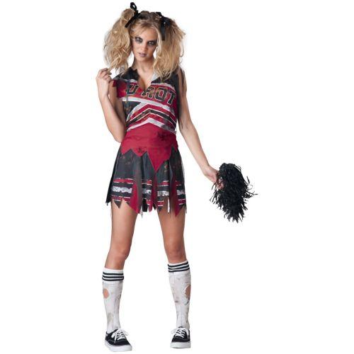【ポイント最大29倍●お買い物マラソン限定!エントリー】Spiritless Cheerleader 大人用 怖い Sports ゾンビ 幽霊 お化け ハロウィン コスチューム コスプレ 衣装 変装 仮装